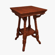 Carved Stool 3d model