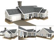 house007.3DS 3d model