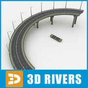 Road descent by 3DRivers 3d model