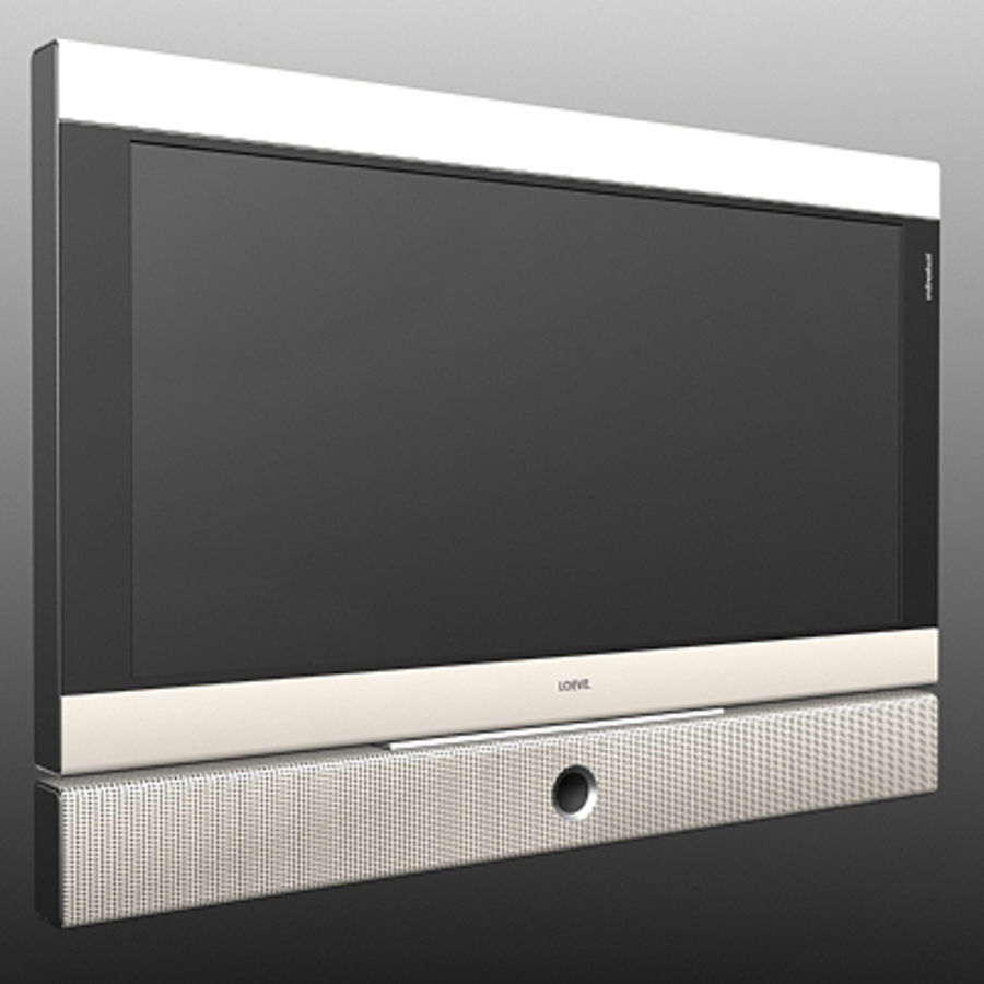 Televisor Loeve royalty-free modelo 3d - Preview no. 1
