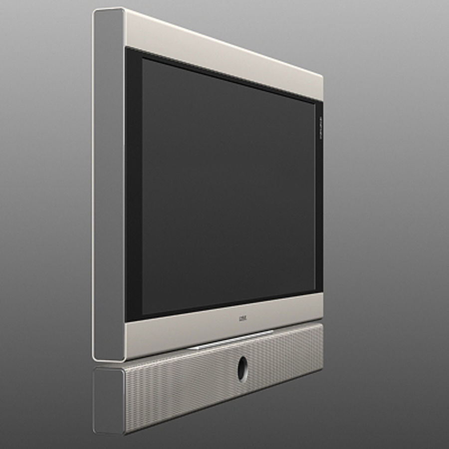 Televisor Loeve royalty-free modelo 3d - Preview no. 3