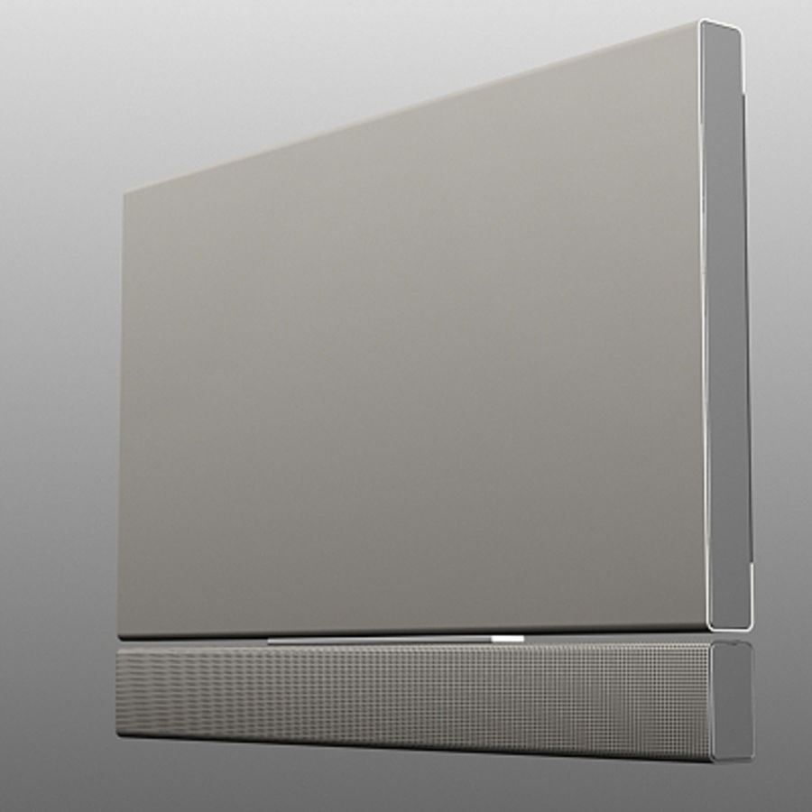 Televisor Loeve royalty-free modelo 3d - Preview no. 4