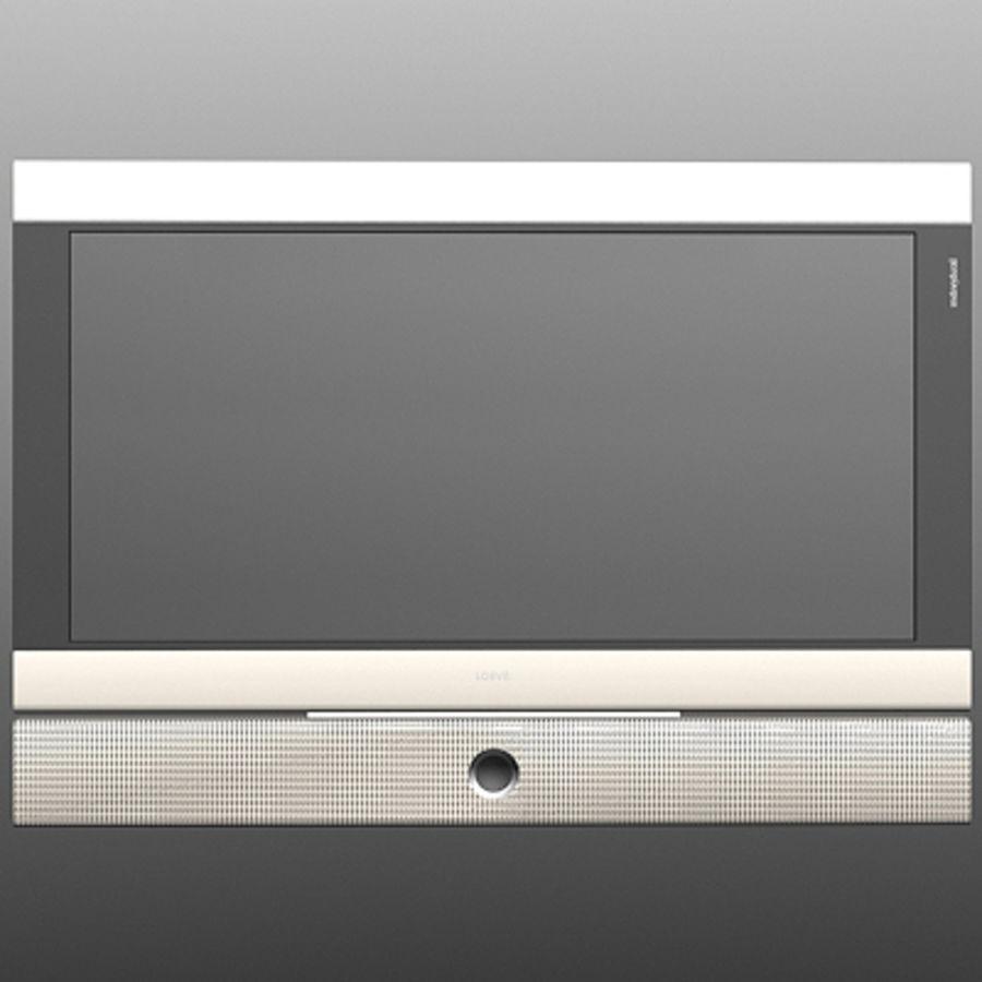 Televisor Loeve royalty-free modelo 3d - Preview no. 2