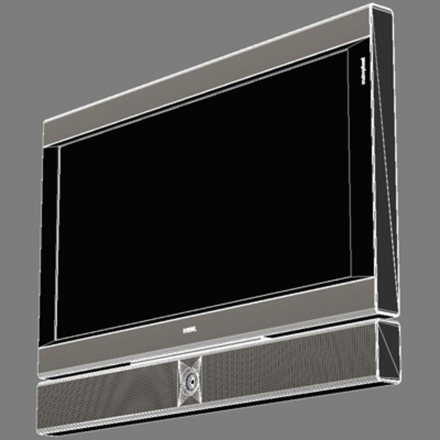 Televisor Loeve royalty-free modelo 3d - Preview no. 7