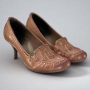棕色鞋(女) 3d model