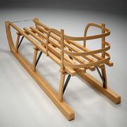 Infant sled 3d model