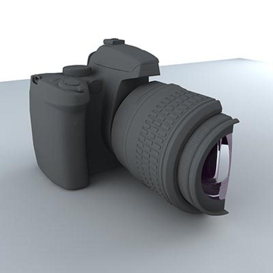 剖面式单反相机 royalty-free 3d model - Preview no. 5