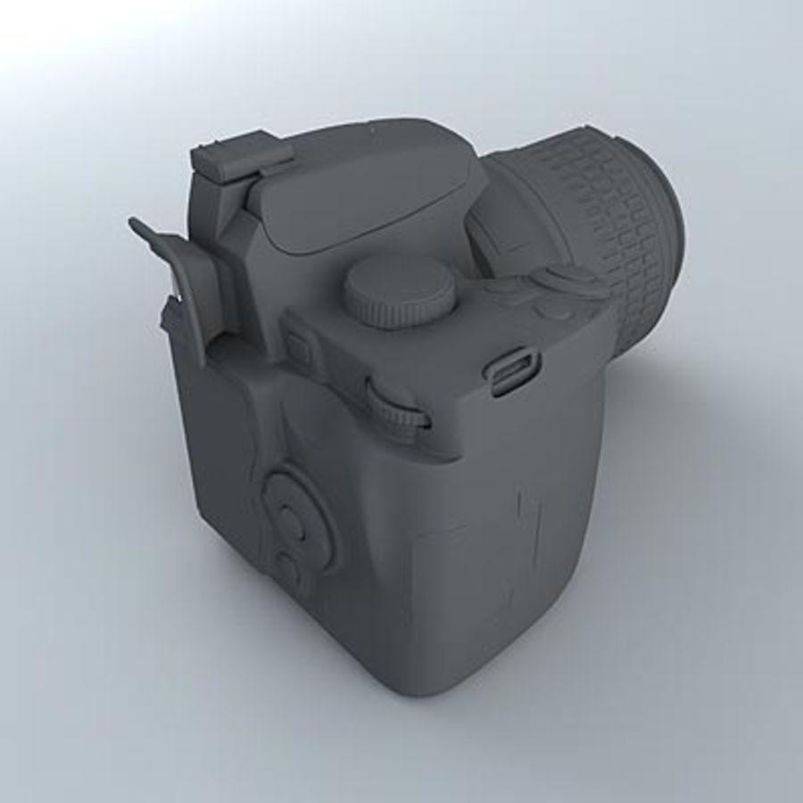 剖面式单反相机 royalty-free 3d model - Preview no. 4