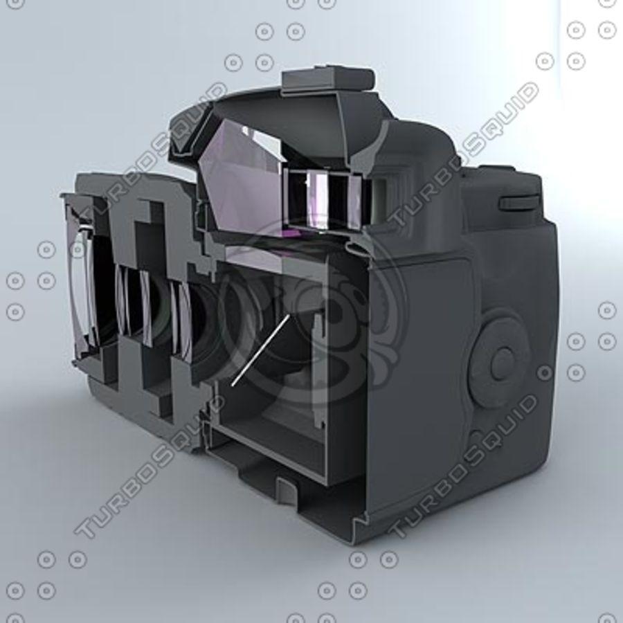 剖面式单反相机 royalty-free 3d model - Preview no. 3