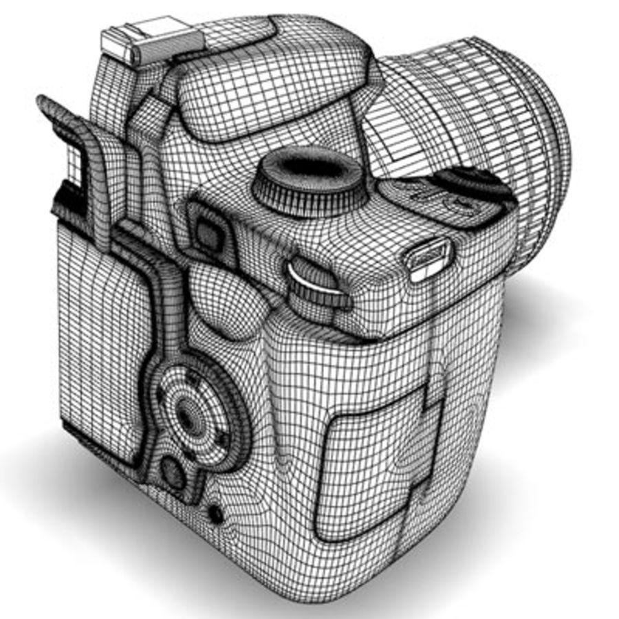 剖面式单反相机 royalty-free 3d model - Preview no. 8