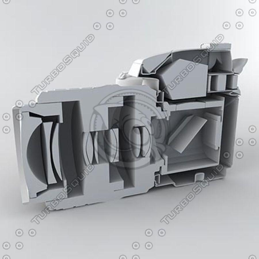 剖面式单反相机 royalty-free 3d model - Preview no. 9