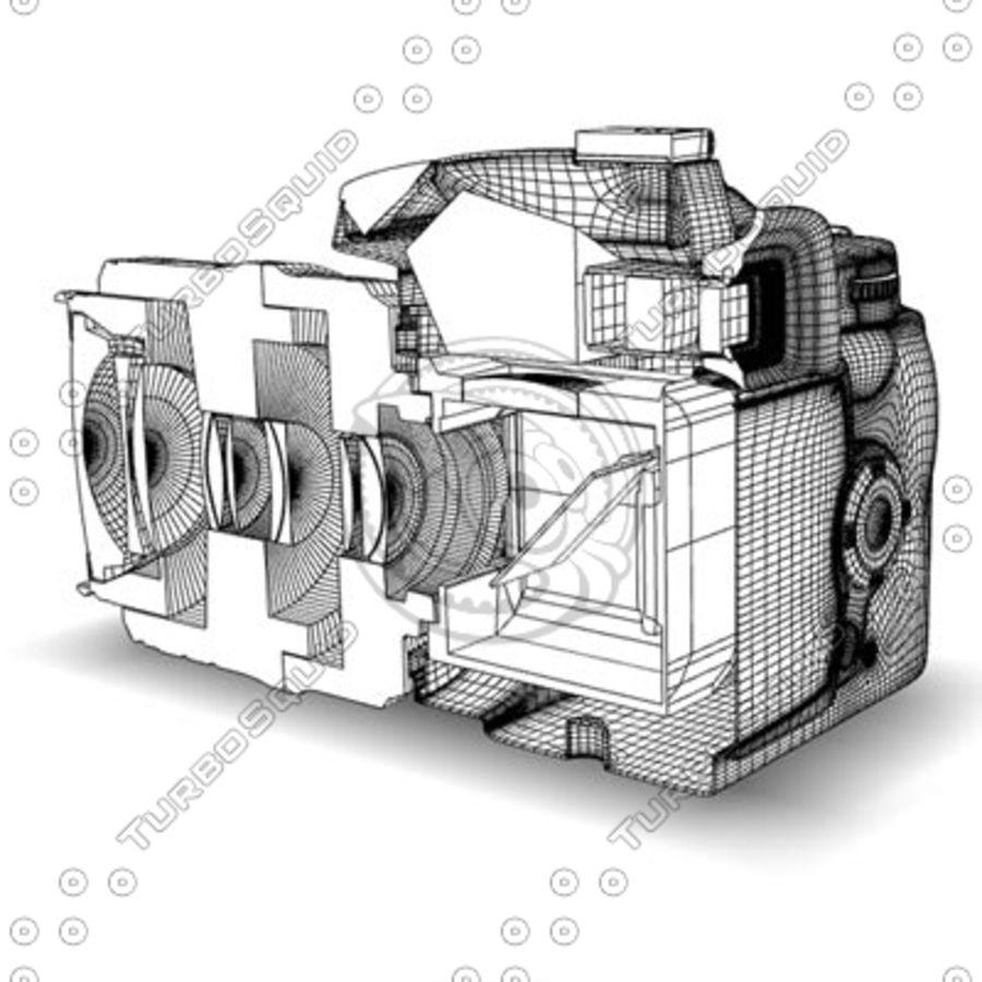 剖面式单反相机 royalty-free 3d model - Preview no. 6