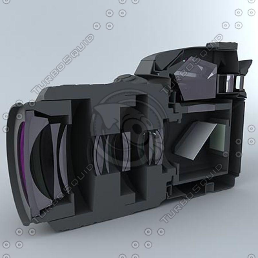 剖面式单反相机 royalty-free 3d model - Preview no. 2