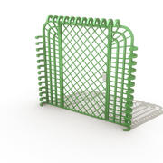 security Gate 3d model