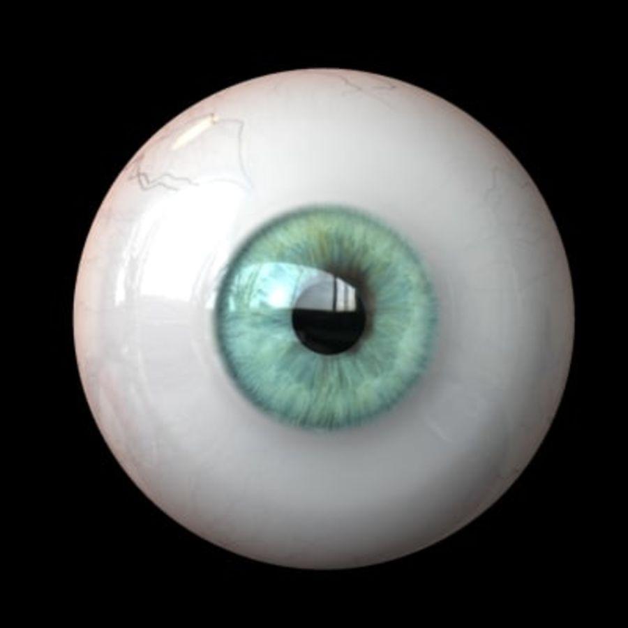 Göz royalty-free 3d model - Preview no. 3