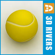Tennis ball	by 3DRivers 3d model