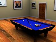Pool Table 2 3d model