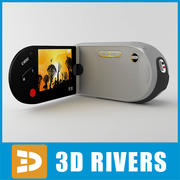 3DRivers'den video kamera 3d model