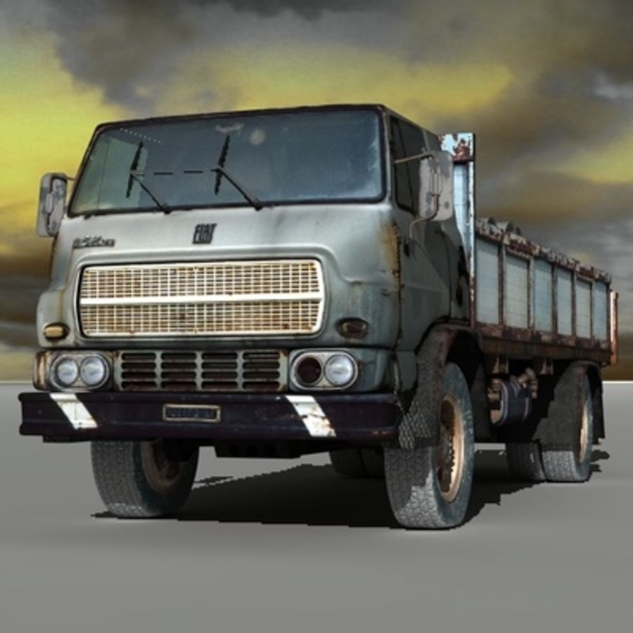 CAMION ANTIGUO royalty-free modelo 3d - Preview no. 1