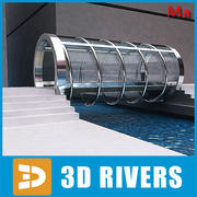 Glass bridge v1 by 3DRivers 3d model