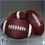 3足球 3d model