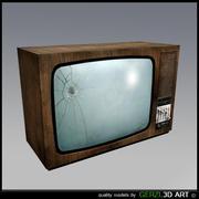 Vecchia TV 3d model