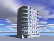 архитектура 15 3d model