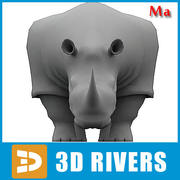 Rhinoceros v1 di 3DRivers 3d model
