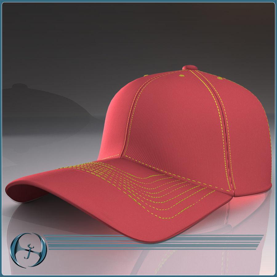 Boné de baseball royalty-free 3d model - Preview no. 3