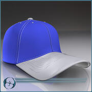 Casquette de baseball 3d model