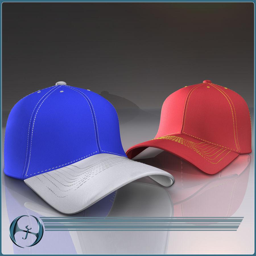 Boné de baseball royalty-free 3d model - Preview no. 2