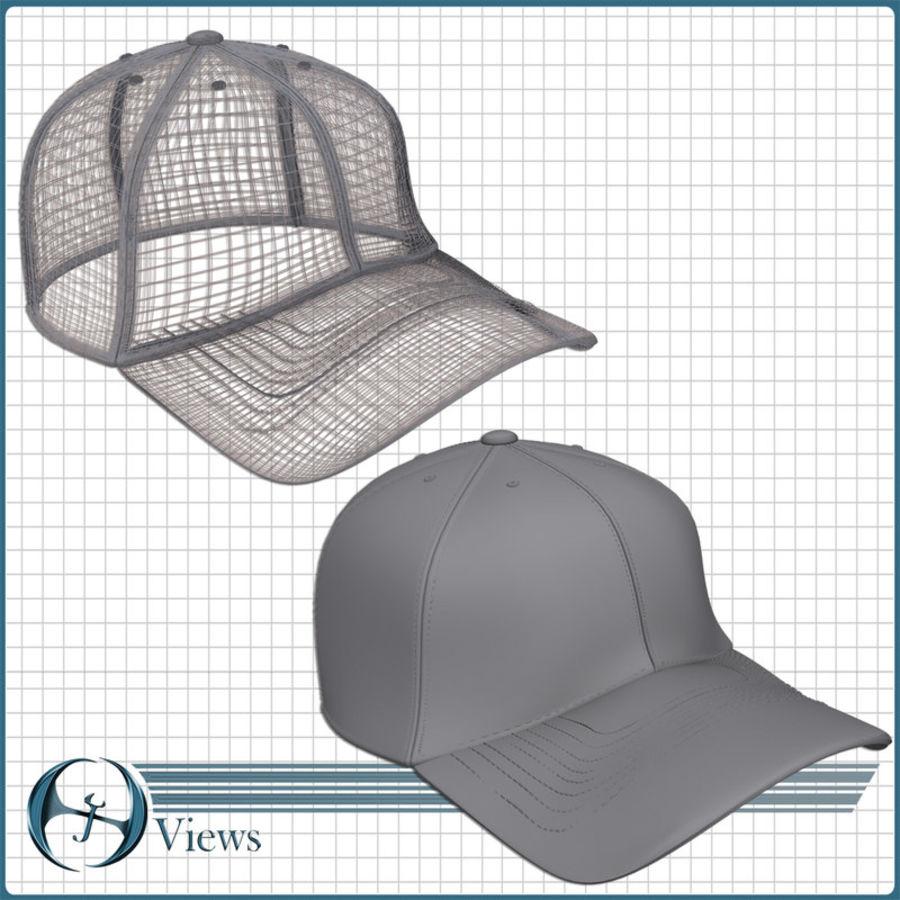 Boné de baseball royalty-free 3d model - Preview no. 5