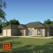 Niski dom poli 12 3d model