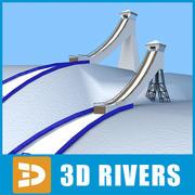 Ski ramp by 3DRivers 3d model