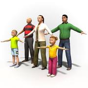 Man 1004~Rigged human model.zip 3d model