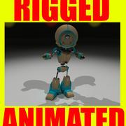 机器人(Rigged&Animated) 3d model