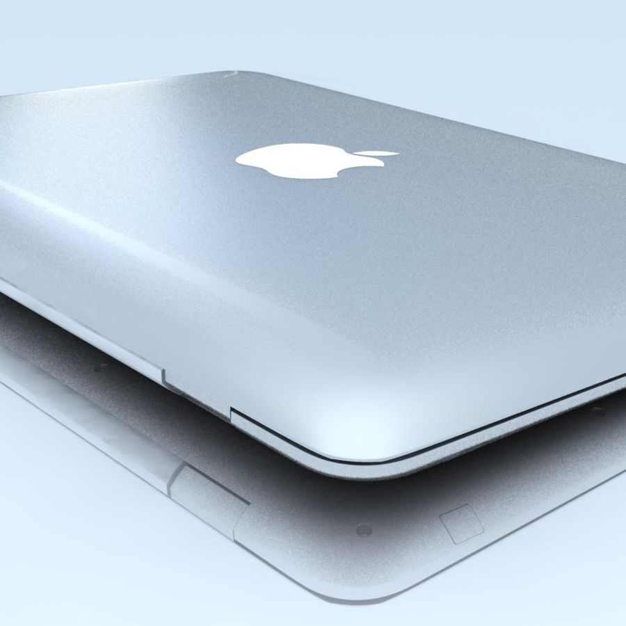 Notebook.APPLE Macbook Air.MAX royalty-free 3d model - Preview no. 11