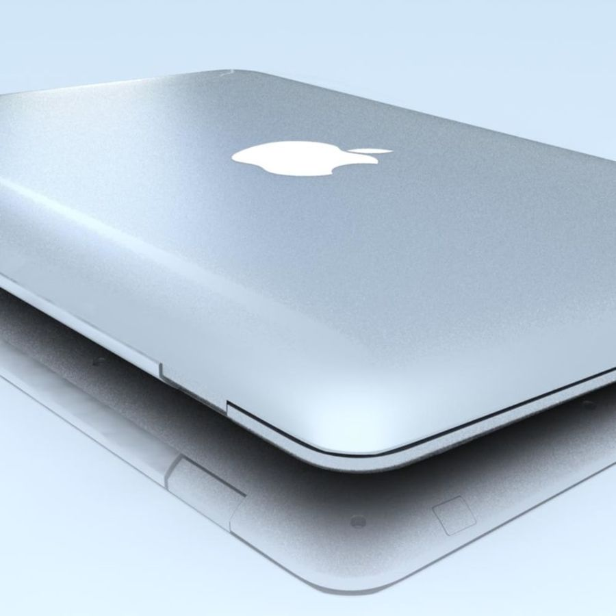 Notebook.APPLE Macbook Air.MAX royalty-free 3d model - Preview no. 21
