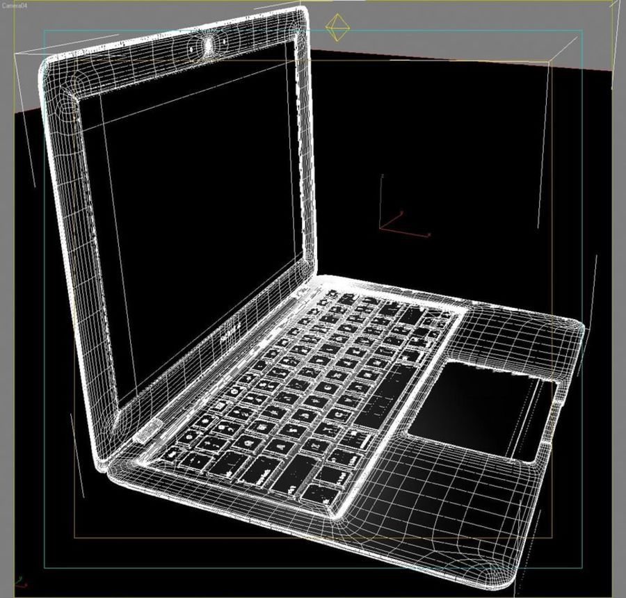 Notebook.APPLE Macbook Air.MAX royalty-free 3d model - Preview no. 33