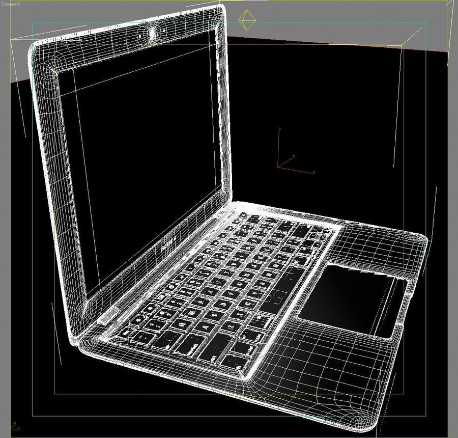 Notebook.APPLE Macbook Air.MAX royalty-free 3d model - Preview no. 18