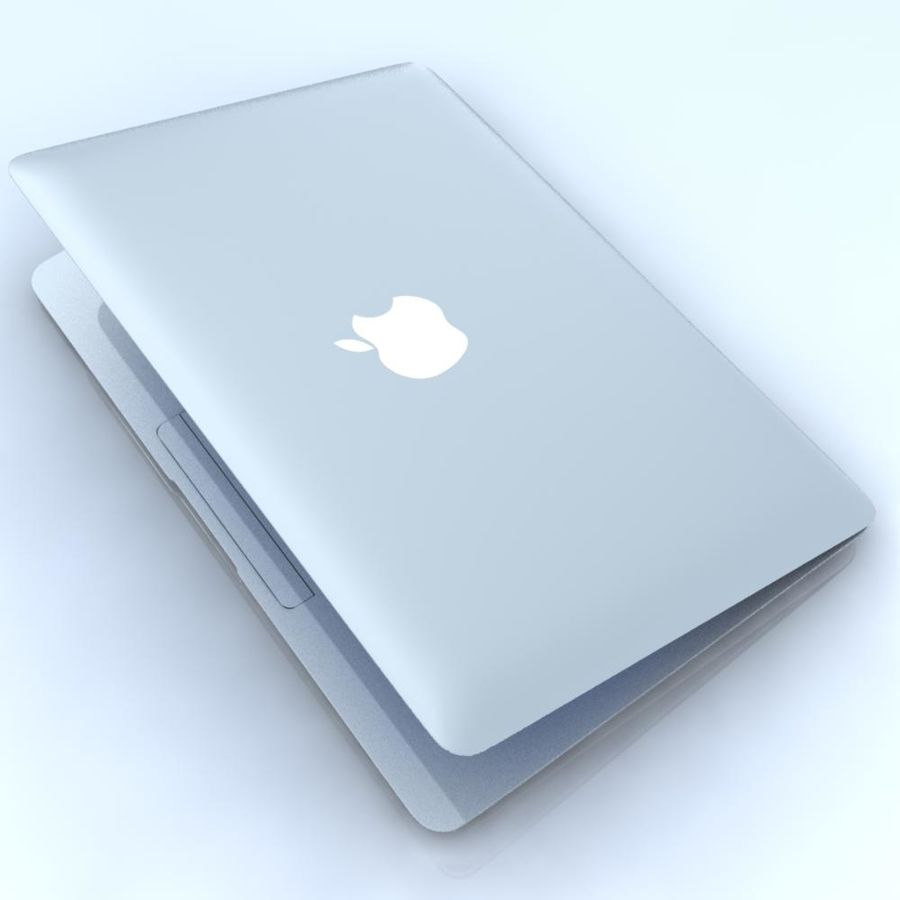 Notebook.APPLE Macbook Air.MAX royalty-free 3d model - Preview no. 10