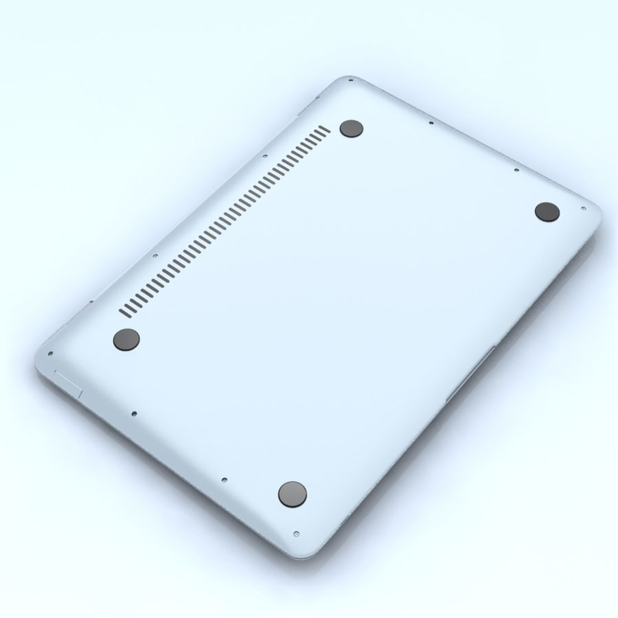 Notebook.APPLE Macbook Air.MAX royalty-free 3d model - Preview no. 12
