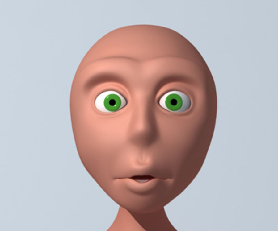 Animation guy 2.5 royalty-free 3d model - Preview no. 14
