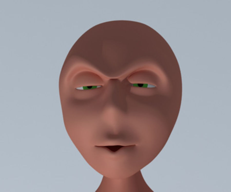 Animation guy 2.5 royalty-free 3d model - Preview no. 11
