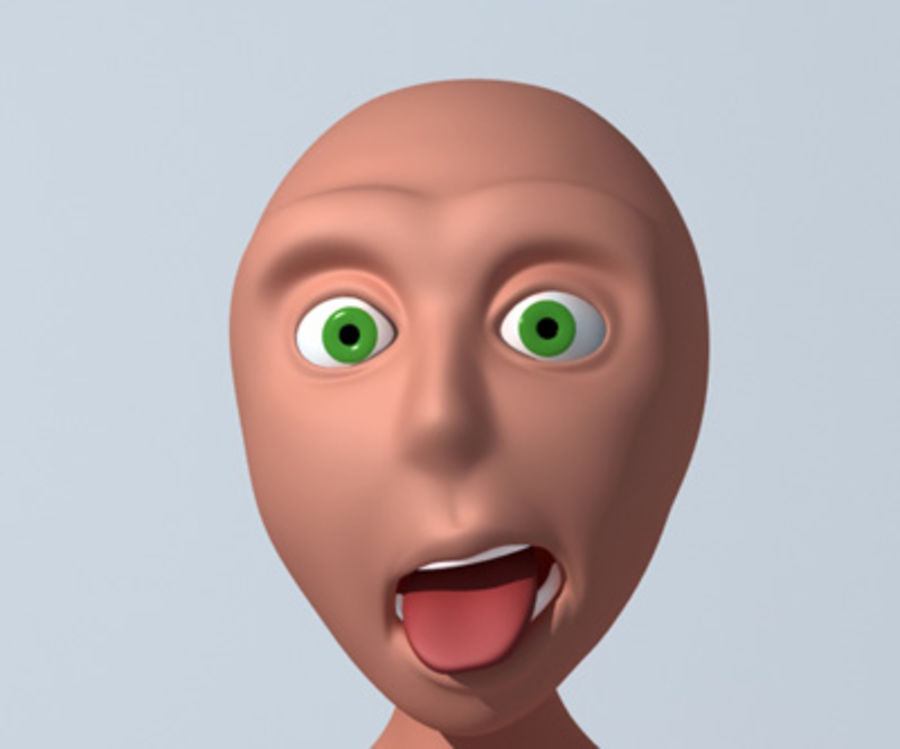 Animation guy 2.5 royalty-free 3d model - Preview no. 1