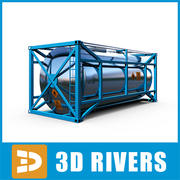 Container 03 by 3DRivers 3d model