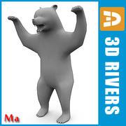 3DRivers tarafından v1 Bear 3d model