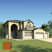 Niski dom poli 11 3d model
