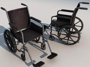 Wheelchair 01 3d model