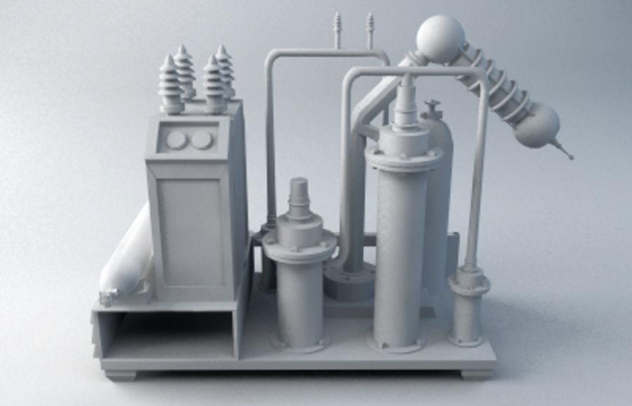 機械 royalty-free 3d model - Preview no. 1